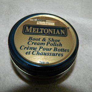 Bags - Meltonian Shoe Cream RED #107 Original Full Jar
